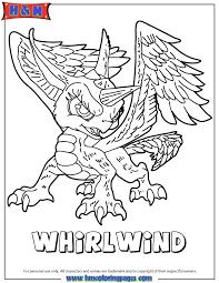 Skylanders Giants Bash Coloring Page