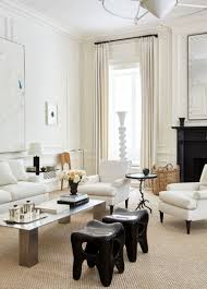 100 Living Rooms Inspiration A Chic Room In Creamy Whites That Will Be Your Today