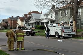 100 Norfolk Truck Southern Truck Involved In Downtown Bucyrus Accident