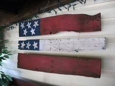 Rustic American Wood Flag Decor By SecondWood On Etsy 3000