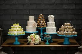 Elegant Dessert Table At Wedding