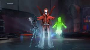 When And How Did Halloween by Galaxy Of Heroes Casts A Halloween Spell With The Nightsisters