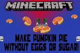 Minecraft Pumpkin Pie Nerdy Nummies by How To Make Pumpkin Pie Without Using Eggs Or Sugar Minecraft