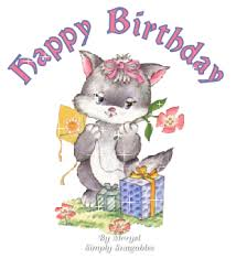 Happy Birthday Nancy xx HappyBirthdayCat vi