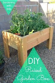 Building A Garden Box Raised Bed Garden Planter Plans Ground