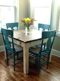 Teal Dining Table Farmhouse Kitchen Chairs I Like The