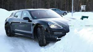 100 Porsche Truck Price Taycan Wagon Spotted Playing In Snow