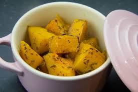 cuisiner le butternut butternut rôtie au four caramélisée à l orange et au thym les