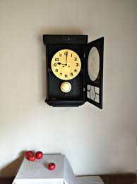 100 Mauthe Pendulum Wall Clock Striking Wall Clock Working