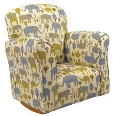 Harriet Bee Starla Child Trunk Tales Cotton Rocking Chair | Wayfair Upholstered Rocking Chair Retro Fabric Light Beige Chairs For Sale Nailhead Detail On Childs Upholstered Rocking Chair Rocker Diy Modern Toddler Fabulous With Fniture Antique Design Ideas Walmart For Town Of Indian 5 Year Old Small Toddlers Boy Amazoncom Delta Children Lancaster Featuring Live Pin By Martha_ladies The House Nursery The Latest Childrens
