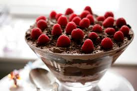 Pumpkin Mousse Brownie Trifle by Triple Chocolate Trifle With Raspberries Recipe Nyt Cooking