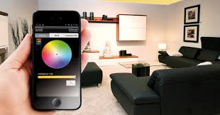smartphone steuert led streifen per app professional