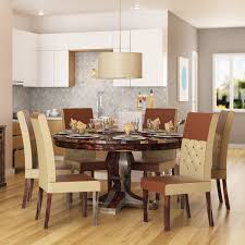 Winsome Glass Top Dining Table Seats 8 Room Seater Square