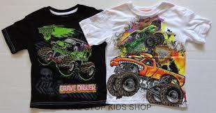 100 Monster Truck Pajamas Jam Shirts Inglisyankeetownorg