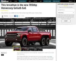 Top Gear – This Leviathan Is The New 705bhp Hennessey Goliath 6×6 ... The Best Trucks Of 2018 Digital Trends Driving The Monster Panda 4x4 Toyota 4x4 Suvs Pettifogging Was Watching Top Gear 2007 Magnetic North Pole Arctic Antarctica Hennessey To Auction Gears Velociraptor Truck For Charity W Monster Modification Usa Series 2 Youtube This Leviathan Is New 705bhp Goliath 66 Ausmotivecom Diy Polar Special Hilux At38 Addon Tuning Central Estate Hits Top Gear And 52 Million In Committed Pickup Toprated For Edmunds