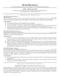 Resume Samples For Banking Professionals Best Bank To Be A Teller Resumes Sample Spectacular
