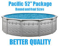 Pacific 52 Above Ground Swimming Pool Packages