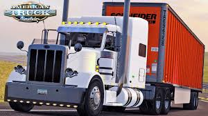 100 Arnold Trucking American Truck Simulator Live Pete 389 Custom To Orlando YouTube