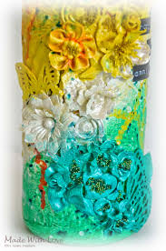 Viva Decor Inka Gold Pastels by Mixed Media Altered Bottle First Anniversary