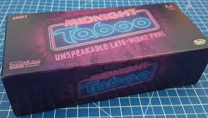 Inside The Box Are An Egg Timer Score Pad 4 Packs Of Midnight Taboo Cards And A Battery Operated Buzzer 2 X AA Not Included We Actually Played Mainly