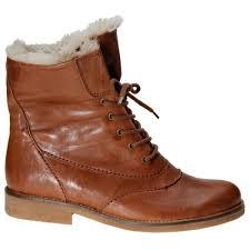 gabor puma ankle boots lace up fur trim gabor shoes