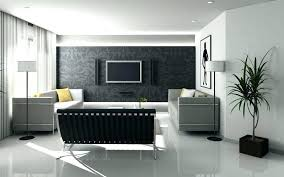 Grey Accent Wall Perfect With The Darker Shade White Interiors Living Room Navy In Gray Colors Dining