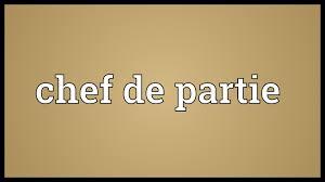 chef de cuisine definition chef de partie meaning