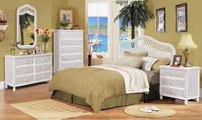 Black Rattan Bedroom Furniture Photo