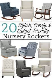 20 Stylish Budget-Friendly Nursery Gliders | Affordable Home Decor ... Sereno White Nursing Glider Maternity Rocking Chair With Glide Rockers And Gliders Nebraska Fniture Mart Detective Rocker 1888 Patent Is Valued At Modern Rocking Chairs Allmodern Bestchoiceproducts Best Choice Products Indoor Outdoor Home Wooden Add A Comfy Stylish Or Glider To Your Nursery Make Kohls Nursery Lazboy Mack Milo Aisley Recling Reviews Wayfair Trango Swivel Recliner Ottoman Set Brown 88 Off Abbyson Living Grey White