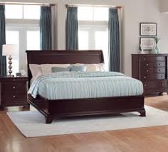 Homelegance 1402LP 1 Inglewood Espresso Queen Low Profile Bed