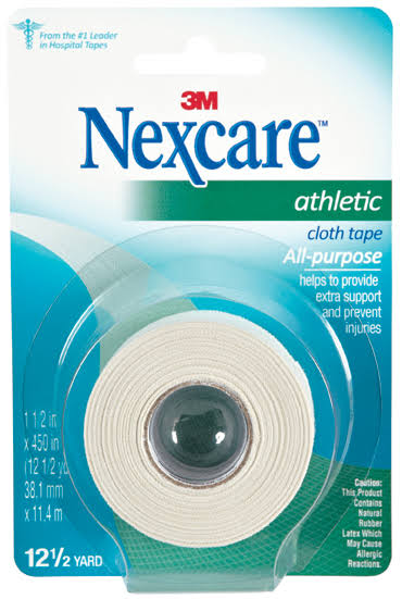 "Nexcare Athletic Cloth Tape - 1 1/2"" x 12 1/2yds"