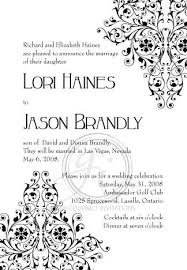 Post Wedding Reception Invitations The Specialiststhe Party