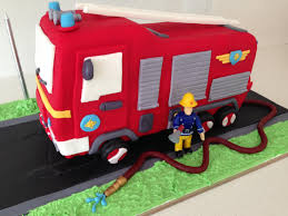 100 Fire Truck Template HowToCookThat Cakes Dessert Chocolate Truck Cake