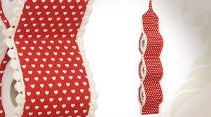 support a papier de toilette support réserve papier toilettes tissu à motifs de coeurs