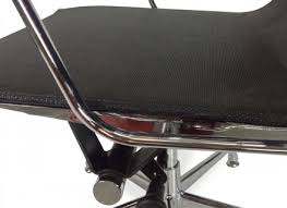 Office Chair With No Arms by Visitor Mesh Office Chair Eames Replica White No Arms Greysrgreyt