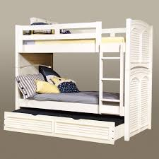 Twin Over Twin Bunk Beds With Trundle by American Woodcrafters Cottage Traditions Twin Over Full Bunk Bed