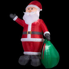 Halloween Blow Up Decorations For The Yard by Christmas Inflatables Outdoor Christmas Decorations The Home Depot