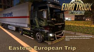 100 Eastern Truck And Trailer Euro Simulator 2 Real Boats And Trains Cruising