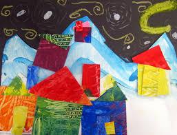 Cassie Stephens Kindergarten Art Class
