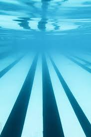 Under Water Perspective Of Swimming Pool Lanes By Jesse Morrow For Stocksy United