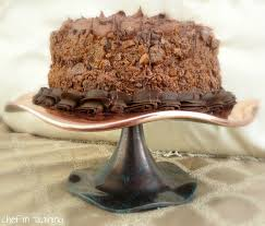 If beauty had a taste I am pretty sure this cake would be it