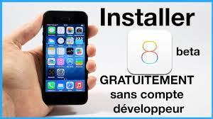Installer iOS 8 beta GRATUITEMENT et sans pte développeur pour