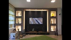 tv wand selber bauen wohnzimmer living room tv wall