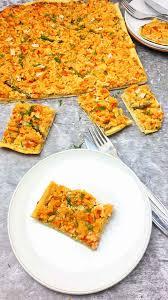 lachs kuchen herzhafter hefeteig kuchen lydiasfoodblog