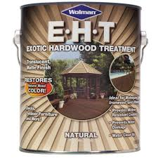 Thompsons Waterseal Deck Wash Msds by Wolman 1 Gal Eht Natural Exotic Hardwood Treatment Protector And