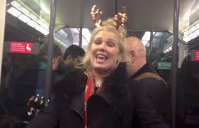 Kim Wilde Rockin Around The Christmas Tree by Kim Wilde Kids In America Drunk On A Train Version