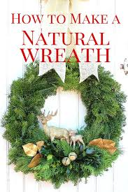 Xmas Wreath Ideas How To Make A Traditional Christmas For Toddlers