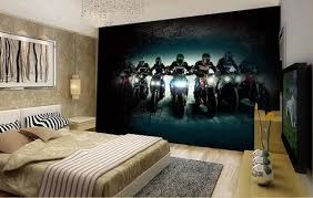 Bar Creative Motorcycle Large Mural Wallpaper Living Room Bedroom Painting TV Backdrop 3D For