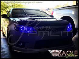 11 13 Scion tC 4 Ring LED Dual Color Halo Rings Headlights Bulbs