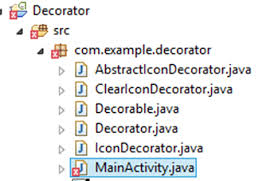 Java Decorator Pattern Real World Example by Applying Decorator Pattern To Decorate Views On Android